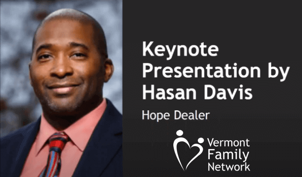 Vermont Family Network keynote speaker