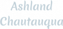 Ashland Chautauqua logo